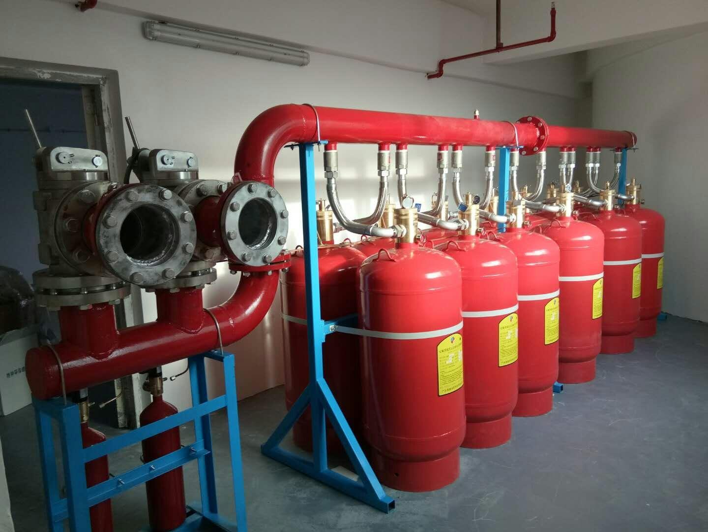 管网七氟丙烷气体灭火系统使用方法步骤实拍