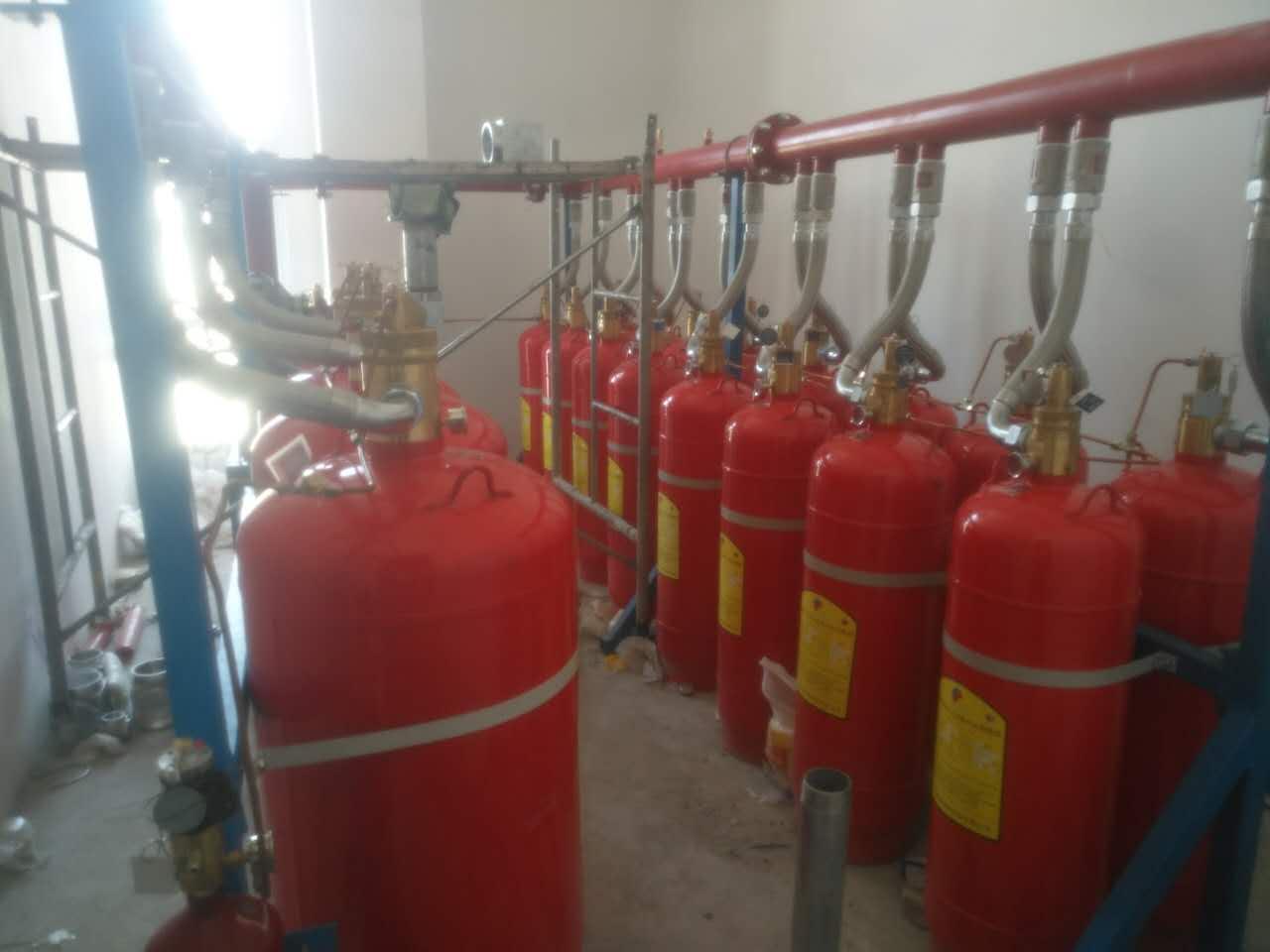 地下车库七氟丙烷气体灭火系统的设备使用场景