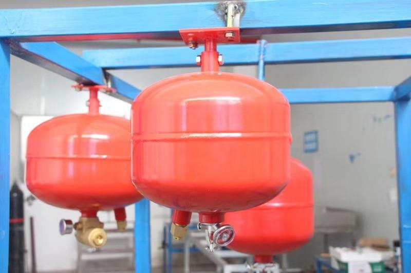 档案室悬挂式七氟丙烷灭火装置的使用安装运行实拍效果