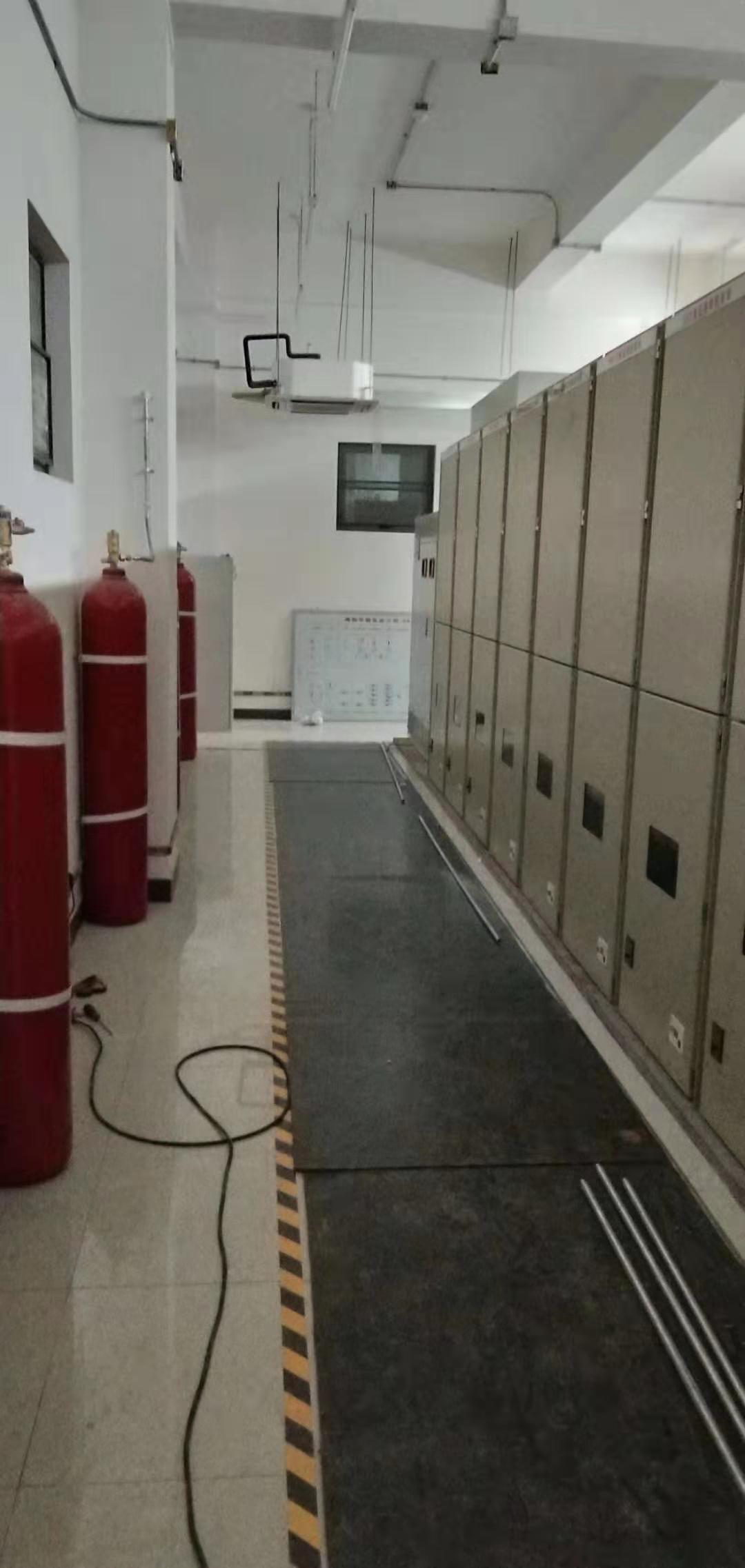 七氟丙烷气体灭火系统地下室现场设计施工