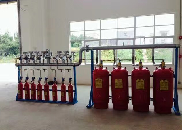 柜式七氟丙烷气体灭火系统装置器材设备的消防灭火工作原理图解