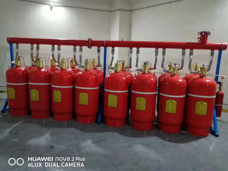 七氟丙烷厂家进行七氟丙烷灭火药剂的充装维修组装