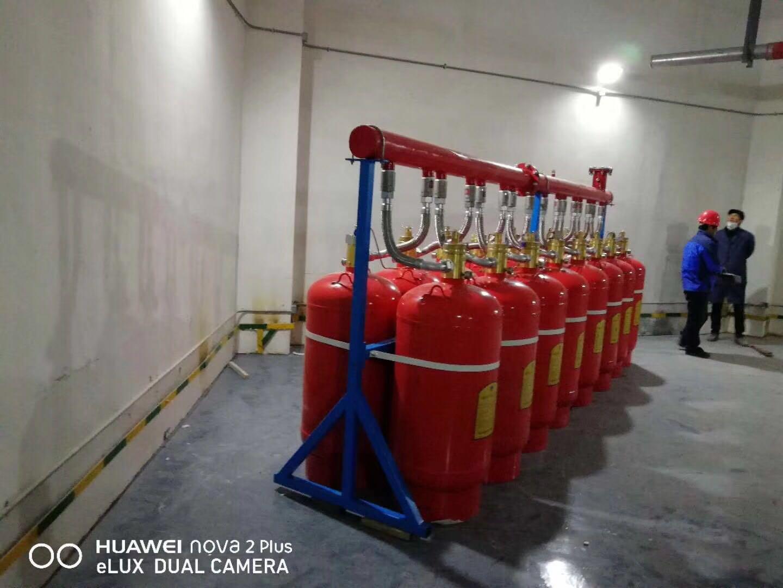 气体消防系统自动灭火装置七氟丙烷灭火系统的使用场景以及实拍案例